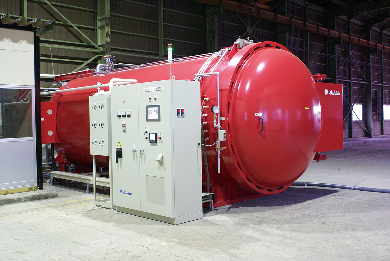 autoclave (φ2000mm x 5000mm)